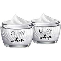 OLAY 玉兰油 Whip 高级保湿霜 - 保湿 - 淡化色斑 - 快速吸收 - 1.7 盎司,2 包