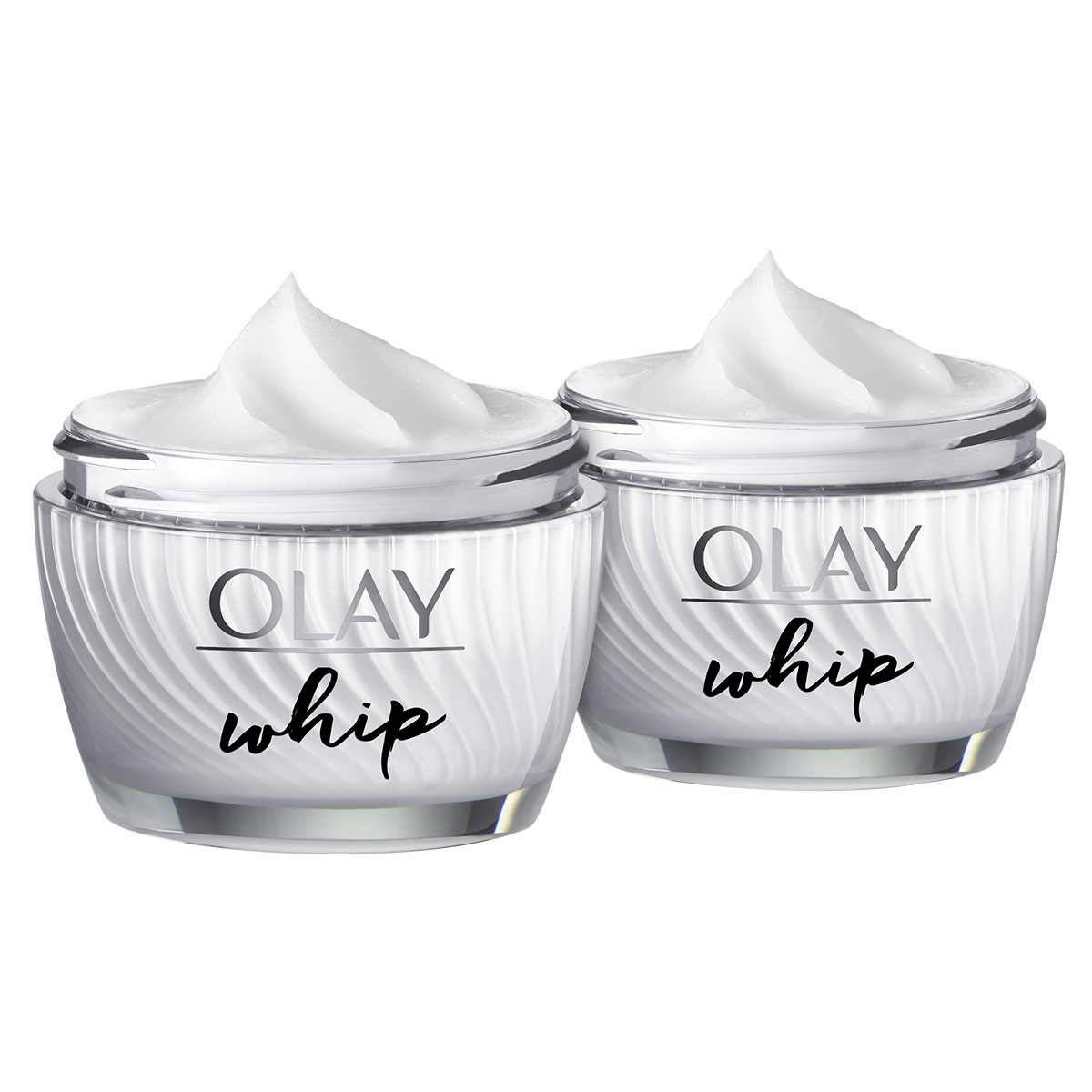 Olay Whip Advanced Cream - Hydrating - Blur Imperfections - Fast Absorbing Formula - 1.7 oz, 2 Pack