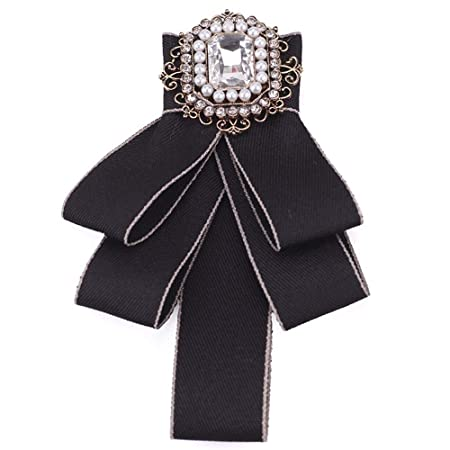 Pajaritas de Moda Señoras Bowknot Bow Tie Traje de Corbata Tie ...