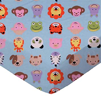 OWL Pack N Play Playard Sheet 100/% Premium Cotton Flannel,Super SOFT Fits Perfectly Any Standard Playard Mattress up to 3 Thick