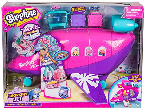 Shopkins Plane Playset, Plus 3 Exclusive (Amazon Exclusive)