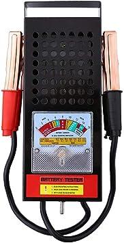 Professionelles Diagnoseger/ät Lade-Tester f/ür Autobatterie Analyseger/ät Ladesystem 6 V-12 V tragbar 100 A Batterietester