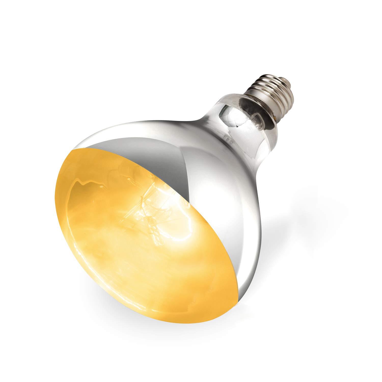 REPTI ZOO 125W Sun Lamp UVA UVB Full Spectrum Basking Bulb Heat Light Lamp for Reptile and Amphibian by REPTI ZOO