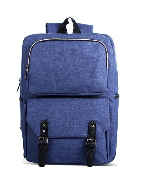 echofun Unisex Oxford Mochila para portátil Casual escuela Colegio Mochilas Vintage Mochila para mochila de viaje