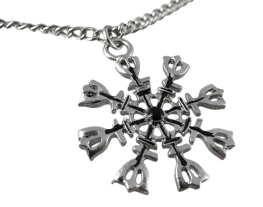 Amazon Norse Eagershelm Talisman Necklace Viking Protection