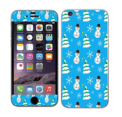 Snowman View Vinyl Skin Decal Sticker for Apple Iphone 6 Plus (5.5 Inch Screen) ()
