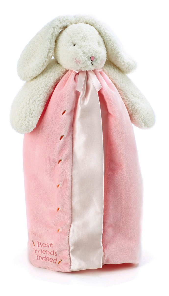 Bunnies by the Bay Buddy Blanket in Pink w110711