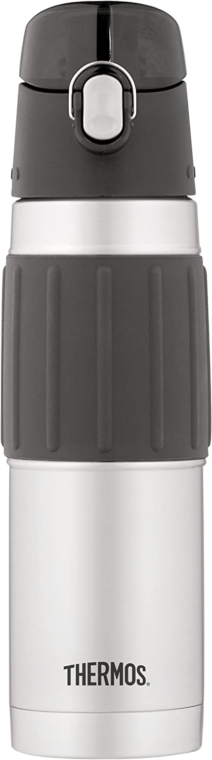 Thermos Vacuum Insulated 18 Ounce Stainless Steel Hydration Bottle, Stainless Steel