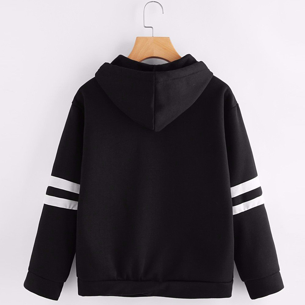 Women Sweatshirt For Teen Girl Yonlanclot Long Sleeve Soild Color Polluver Cute  Autumn Winter Sweater Sport Sweater Tops Blouse Hoodies Shirt   Amazon.co.uk  ... cefa41b46