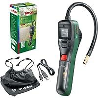 Bosch Home & Garden Electric Air Pump Mini Compressor EasyPump (3.0 Ah Battery, 3.6 Volt, 150 PSI, 10.3 bar, LED), Green…