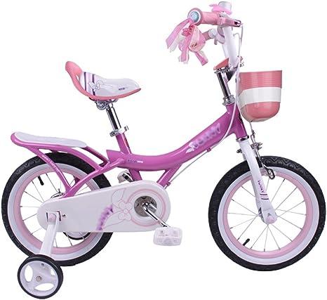 MAZHONG Bicicletas Bicicleta para Niños Rosa, Rosa Claro, Morado ...