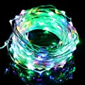AcTopp Dimmable 150 LEDs String Lights USB 5V 49ft Waterproof Remote Control Copper Wire String Lights for Christmas Party Indoor, Outdoor Decorations - CE,ROHS Approved
