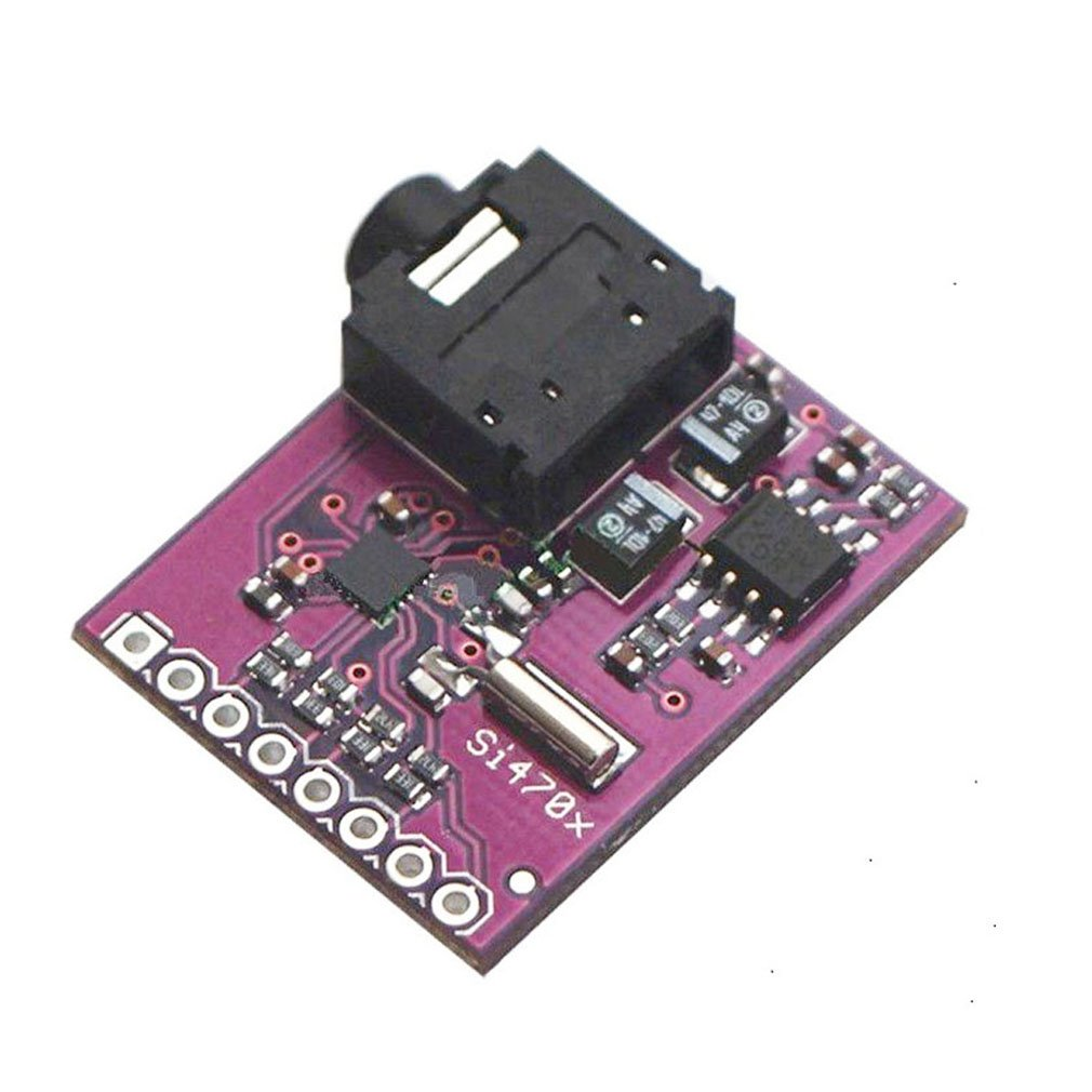 HiLetgo Si4703 RDS FM Radio Tuner Evaluation Breakout Board For Arduino AVR PIC ARM HiLetgo®