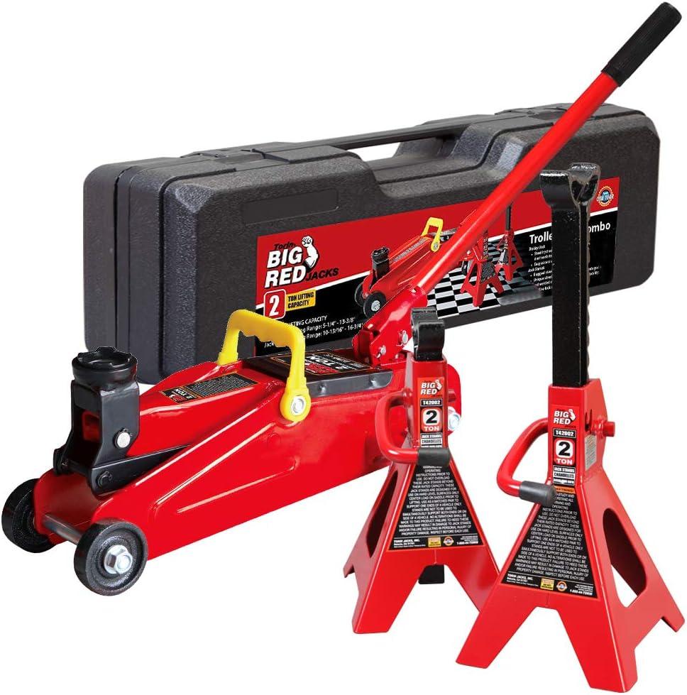 Torin 2-Ton Hydraulic Trolley Jack