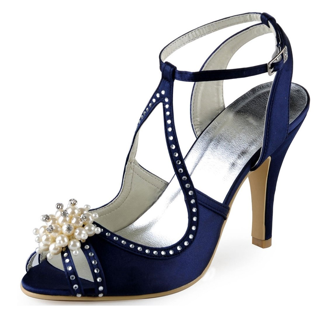 Minitoo MinitooUK-MZ8229, Minitoo Sandales Pour Femme Navy 19948 Pour Blue-7.5cm Heel 0979c39 - boatplans.space