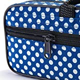 "Beaumont ""Blue Polka Dot"" Flute Case With"