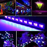 Yomyray Black Light Fixture UV LED Lighting