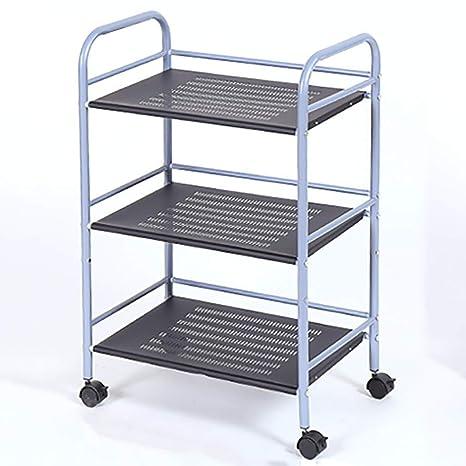 Amazon.com: LEBAO - Carrito de acero inoxidable y rueda de ...