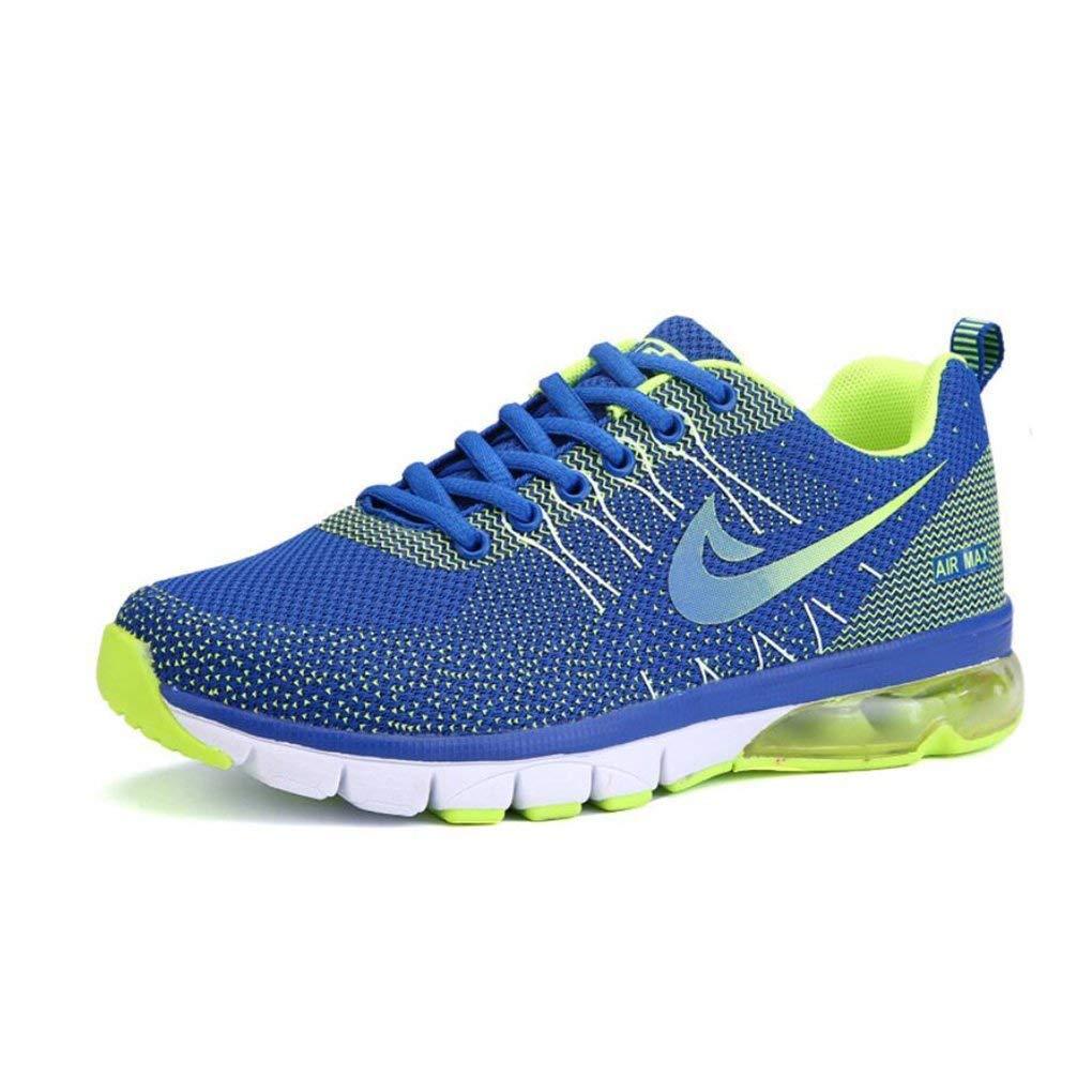 Herren Turnschuhe Laufschuhe Mode Luftpolster Freizeitschuhe Dämpfung Atmungsaktive Sportschuhe Mesh Rutschfeste Schuhe Wandern (Farbe   EIN Größe   40) (Farbe   B Größe   EU 40)
