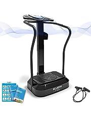 Bluefin Fitness Plateforme Vibrante Pro Sport à la Maison | Expérience Fitness | Rotation des Hanches 360 | Moteurs Silencieux | Haut-parleurs | Design Anglais
