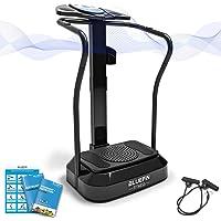 Bluefin Fitness Plateforme Vibrante | Pro Model | Conception Améliorée avec Moteur Silencieux et Haut-Parleurs Intégrés