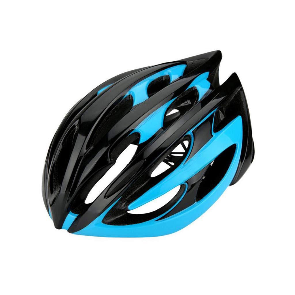 新しいブランド 自転車ヘルメット、ロードマウンテンバイクヘルメット調整可能な軽量アダルトヘルメットバイクレーシングセーフティキャップ - ワンボディフォーミング B07PSNMP7V B07PSNMP7V 青 青 青, DONOBAN(ドノバン):5cf6a710 --- a0267596.xsph.ru