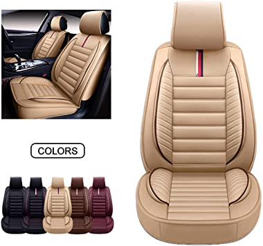Car seat covers fit SAAB 9.3 Eco-leather black//beige