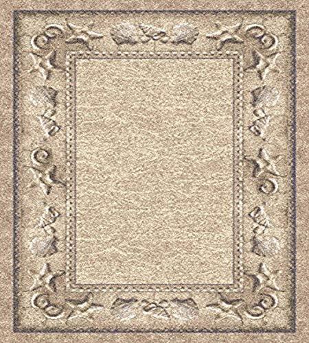 Milliken Signature Collection Sand Castles Rectangle Area Rug, 10 9 x 13 2 , Opal