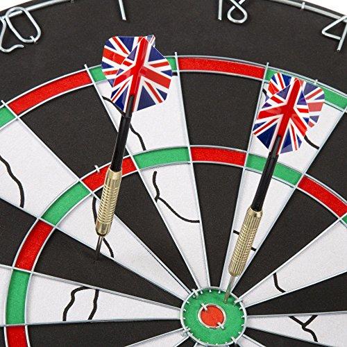 Trademark Dart Size with 6-17 Darts