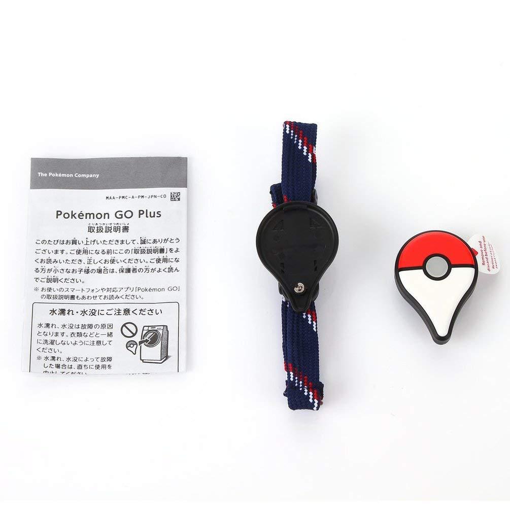 FCGV Professionelles Bluetooth-Armband für Pokemon Go Plus Armband-Armband-Gerät -Red & White