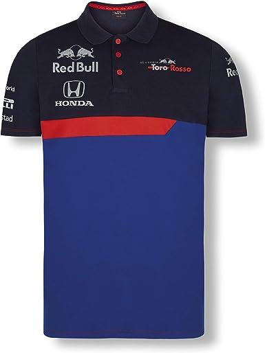 Red Bull Toro Rosso Official Teamline Camisa Polo, Azul Hombre X ...