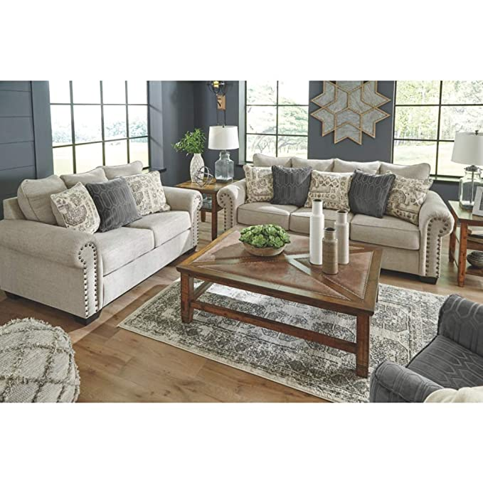 Amazon.com: Signature Design by Ashley 9770439 Queen Sofa ...