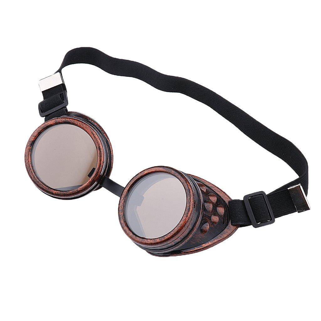 Gafas de Estilo Steampunk Soldadura Cibernéticos para Cosplay (Cobre): Amazon.es: Ropa y accesorios