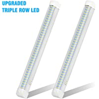 UPGRADED LED Interior Light Bar, MIHAZ 108LED 12V Universal Light Strip with ON/OFF Switch for RV Van Truck Lorry Camper…