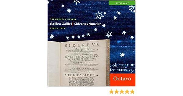 Sidereus nuncius latin edition : galileo galilei: 9781891788123