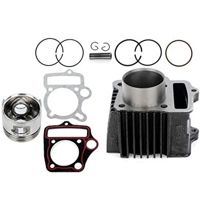 ECCPP CYLINDER & PISTON KIT ASSEMBLY For HONDA Z50 Z50R XR50 CRF50 50CC DIRT BIKE PIT BIKE: Automotive [5Bkhe0104844]