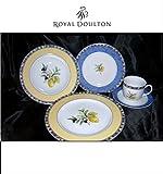 Royal Doulton Carmina Cucina Fine Porcelain 5 Piece Place Setting