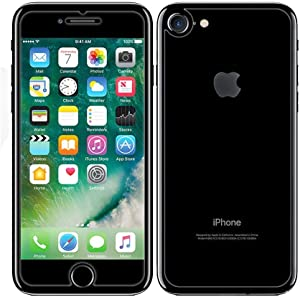 iPhone 8 / iPhone 7 Front and Back Screen Protector 2-Pack, DGBAY Front + Back Rear Tempered Glass Anti Scratch/Bubble Free [9H Hardness 0.26 mm 2.5D] Premium Ultra-Clear Case Cover