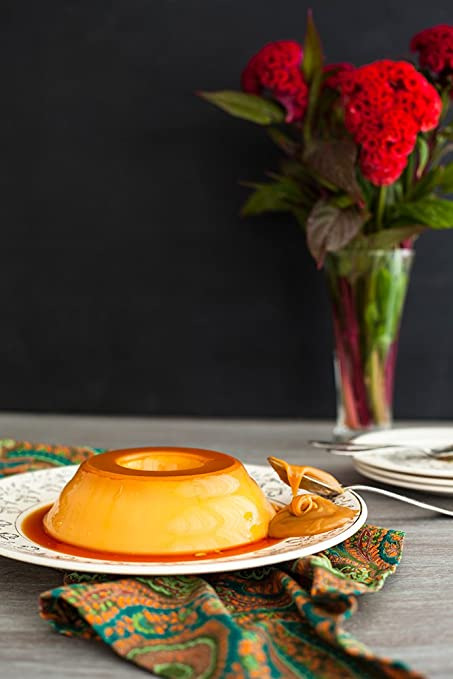 Photos.com by Getty Images Flan With Dulce De Leche Poster Print,