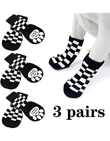 Anti-Slip Pet Dog Shoes with Nylon Adhesive Buckle Strap Design for Pet Climbing Long Time Walking or Winter Walking Hengu Dog Paw Protective Boots