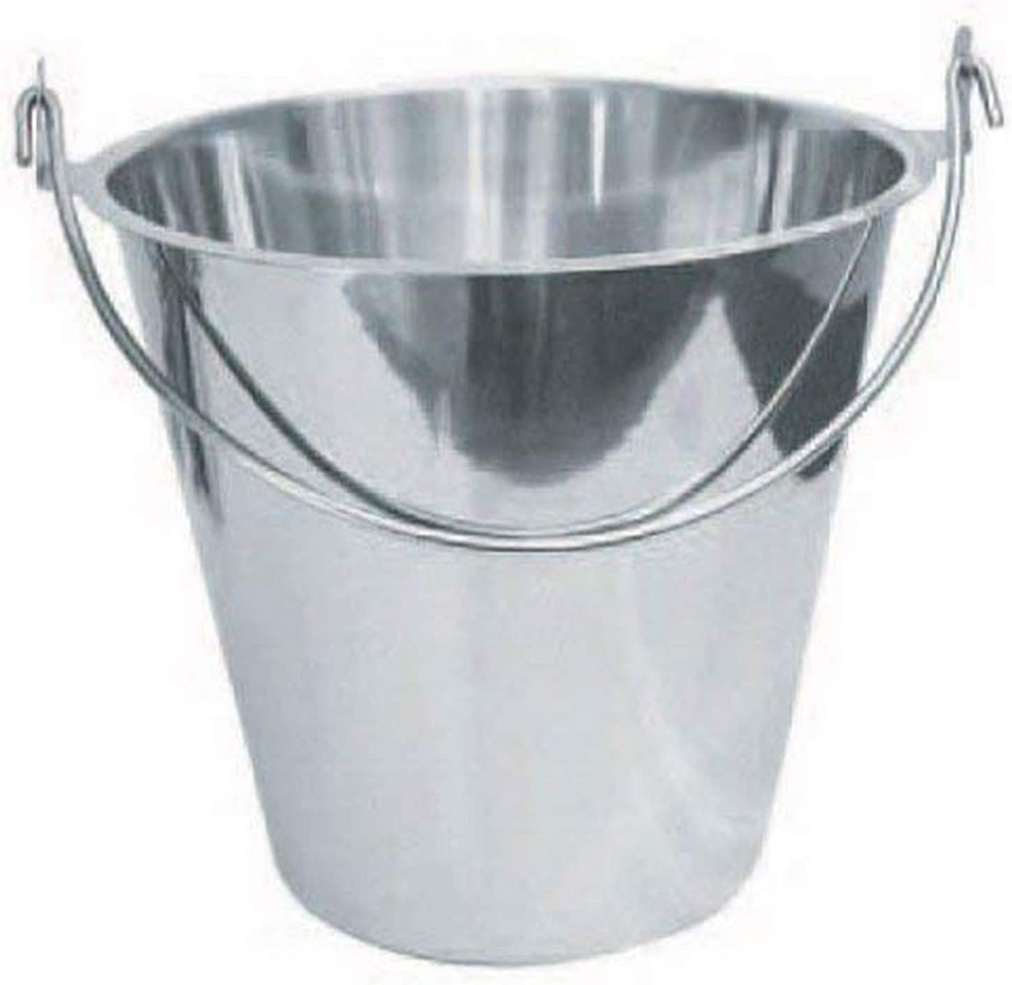 Winco UP-13 Stainless Steel Utility Pail 13-Quart