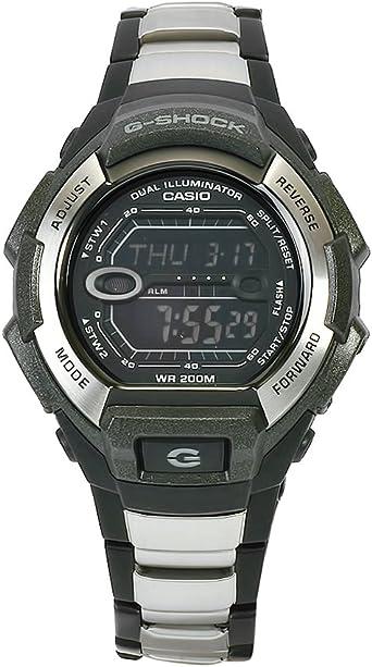 Amazon.com: Casio Mens G800BXD-1 G-Shock Black-Silver ...