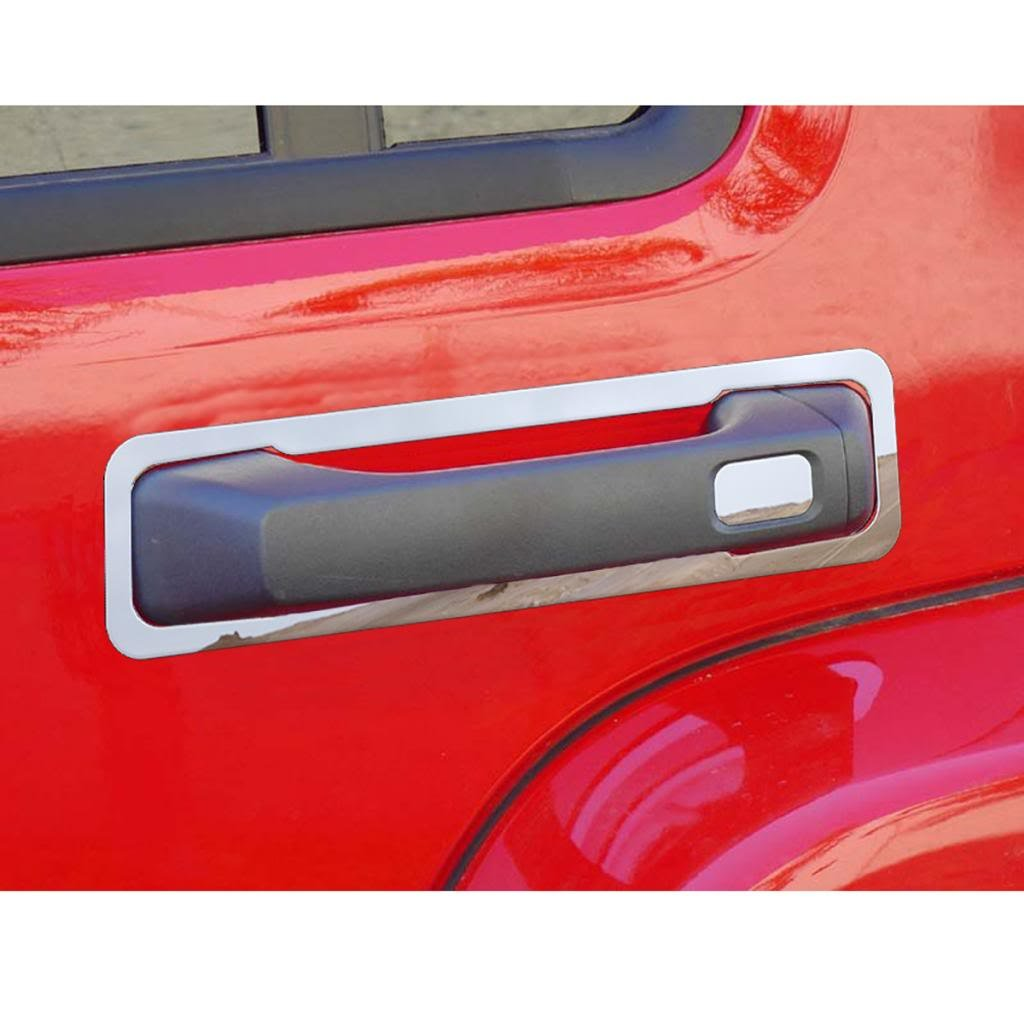 2005-2010 Hummer H3 OTH-101-08 Ferreus Industries Polished Stainless Door Handle Trim fits