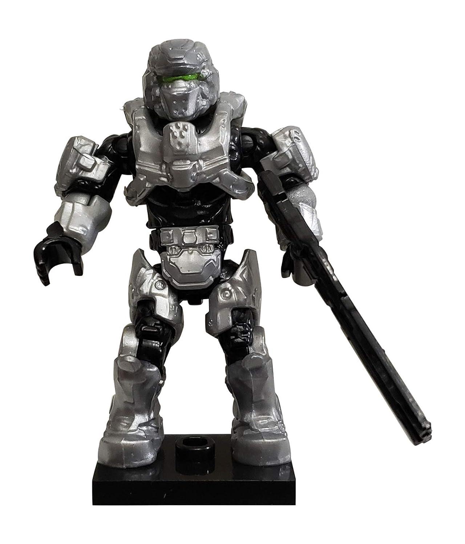 Green Visor Mega Bloks Halo SDCC 2015 Exlusive UNSC Spartan Mini Figure