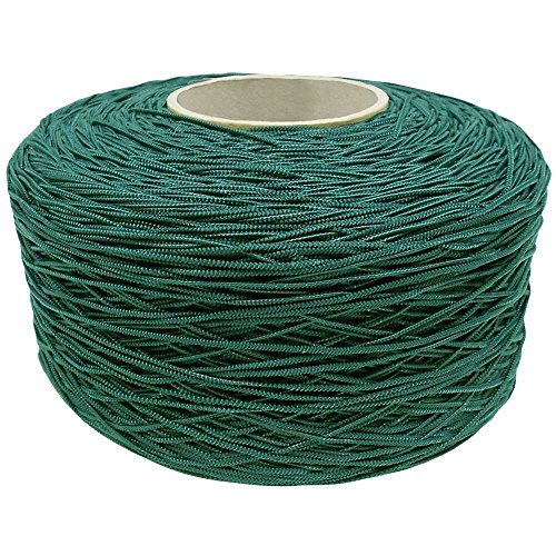 Green rubber string for tying machine 1kg, 1000m/roll