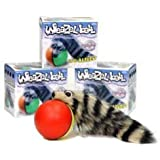 Weazel Ball - 3 Pack - Battery Operated Toy for Kids, Adults, Dogs or Cats by D.Y. Toy