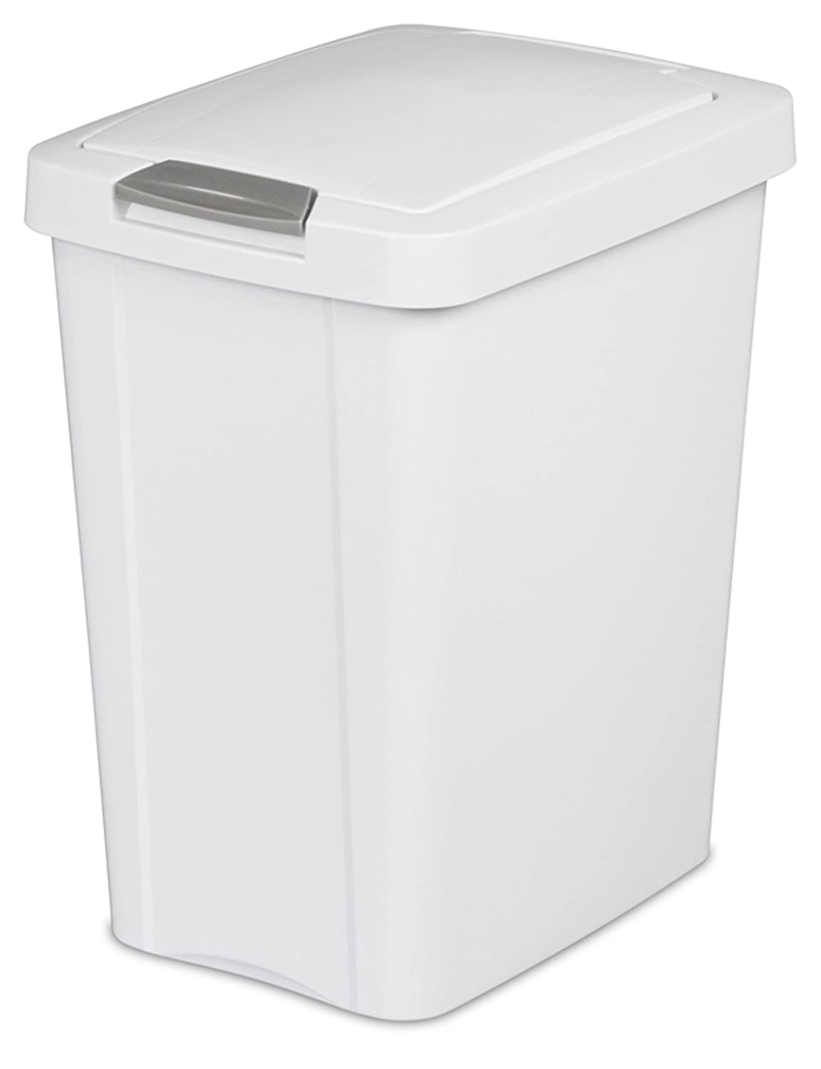 Amazon.com: Sterilite 10438004 7.5 Gallon TouchTop Wastebasket ...