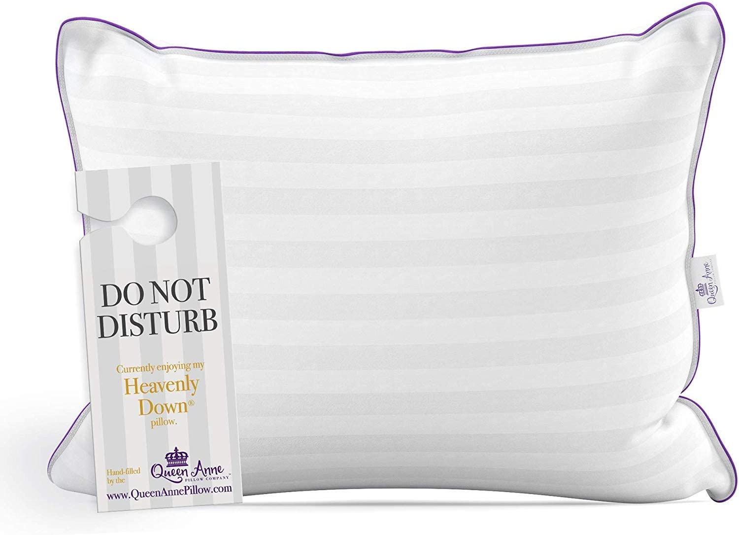 """Standard Size Pillow for Sleeping, Allergy Free Bed Pillows - Luxury Hotel Quality Pillow, Synthetic Down Alternative Hypoallergenic Pillows for Back, Stomach, Side Sleepers (Standard Soft 20"""" x 26"""")"""