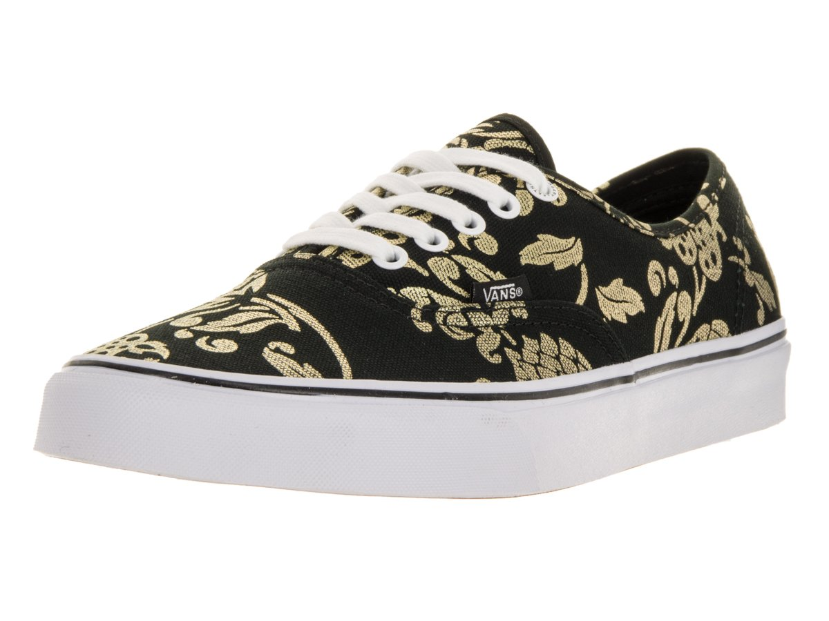 Vans Authentic B00AAADE7G Men's 6.5, Women's 8 Medium|Duke/Black/Gold Foil