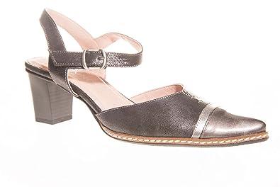 Dorking 7144EFCLA Noir - Chaussures Escarpins Femme